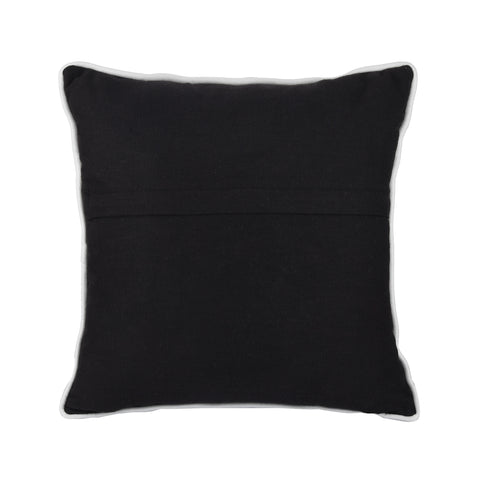 CHARCOAL PERSONALISED CUSHION WITH EMBROIDERED DATE