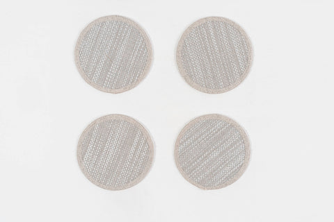 "FOREVER COASTERS 4.5"" Round - set of 4 & 6"