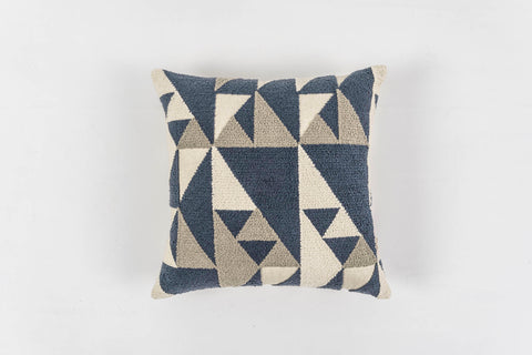 CONTOUR BLUE SMOKE CUSHION