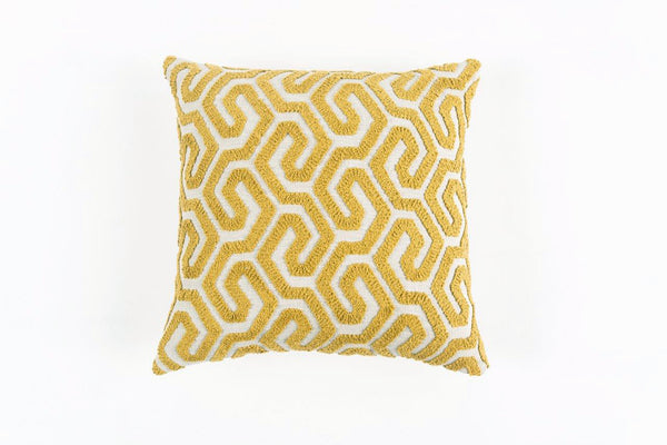 GEOMETRICO GOLD DUST CUSHION