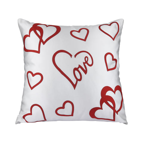 FLOATING HEARTS CUSHION
