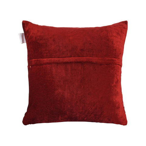 HEARTS IN HEARTS RED CUSHION