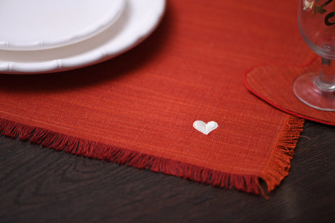 HOME IS WHERE THE HEART IS PLACEMATS