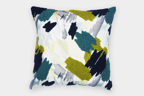 IMPASTO MULTICOLOUR CUSHION