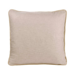 IVORY  PERSONALIZED CUSHION WITH SEQUIN