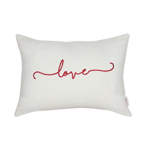 LOVE IVORY CUSHION
