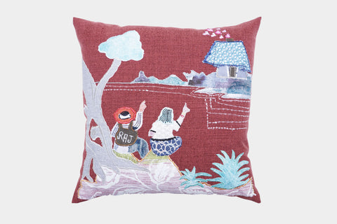 LOVE UNDER THE TREE CUSHION