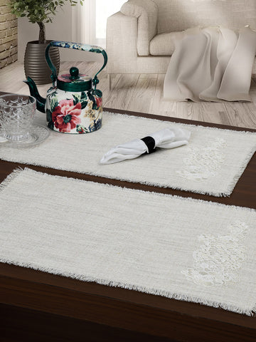 OLIVIA OFF-WHITE PLACEMATS