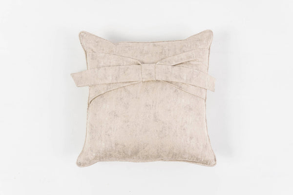 PAPILLON SILVER CUSHION