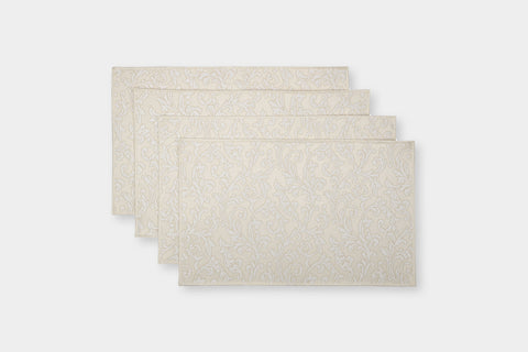 ACANTHUS IVORY PLACEMATS