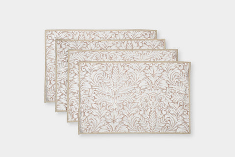 DAMASK BLUSH PLACEMATS