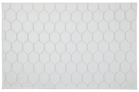 HEX IVORY PLACEMATS