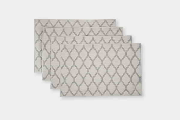OGEE TAUPE PLACEMATS