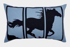 RUNNING HORSE CUSHION