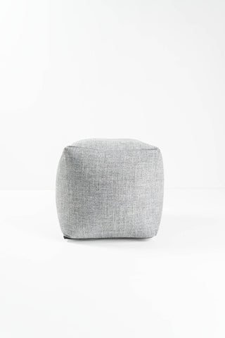SKY OXFORD BLUE POUFFE