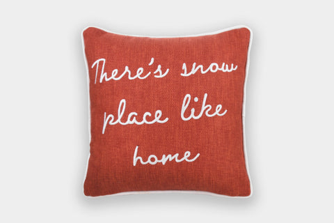 SNOW PLACE LIKE HOME CUSHION