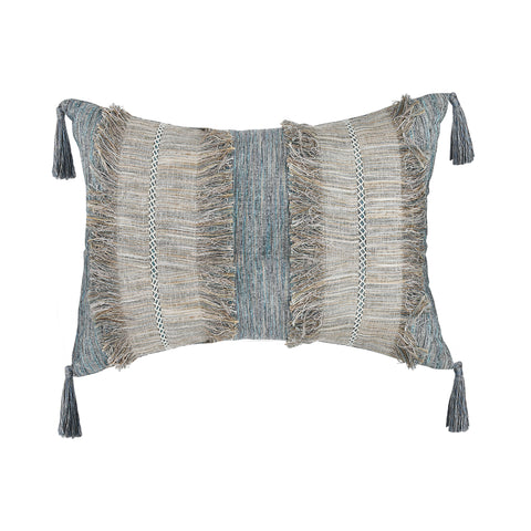 WATERFALL DENIM UPCYCLED CUSHION
