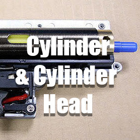 Airsoft AEG Cylinder and Cylinder Head