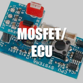 Airsoft PTW ECU, MOSFET and Switch Board