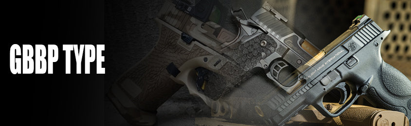 Search By Gas Blowback Pistol type