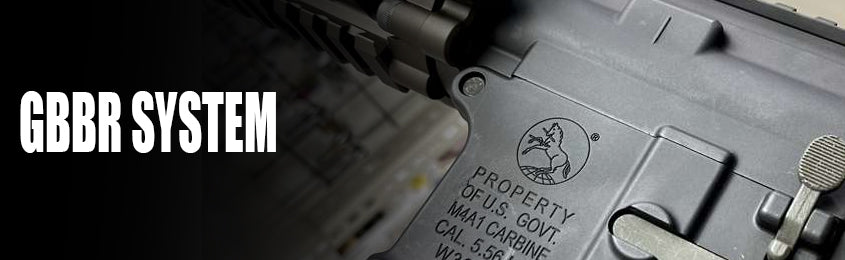 Search By Gas Blowback RIfle System
