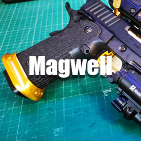Airsoft GBB Pistol Magwell