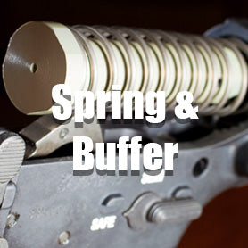 Airsoft GBB Rifle Spring and Buffer