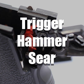 Airsoft GBB Pistol Trigger, hammer, and Sear