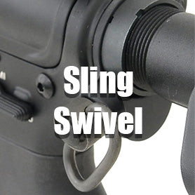 Airsoft gbb Rifle Sling Swivel