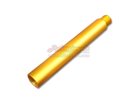 [SLONG] Aluminum extension barrel[-14mm CCW[117mm][GLD]