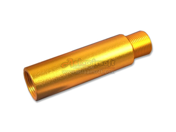 [SLONG] Aluminum extension barrel[-14mm CCW[57mm][GLD]