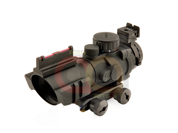 [Sniper] 4 X 32 Magnifier scope with 3 colours Illumination pointing [BLK]