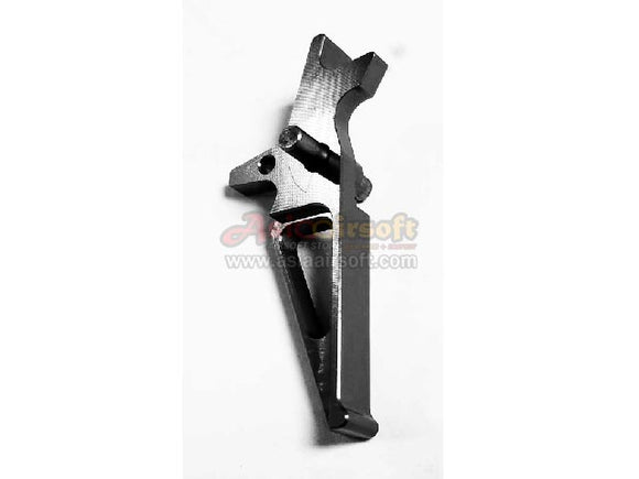 [Army Force]Aluminium CNC Airsoft Racing Trigger[For M4/M16 AEG Series][BLK]