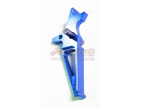 [Army Force]Aluminium CNC Airsoft Racing Trigger[For M4/M16 AEG Series][Blue]