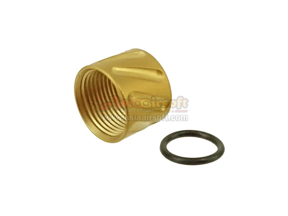 [5KU] Barrel Thread Protector[For -14mm CCW Thread][Type A][Gold]