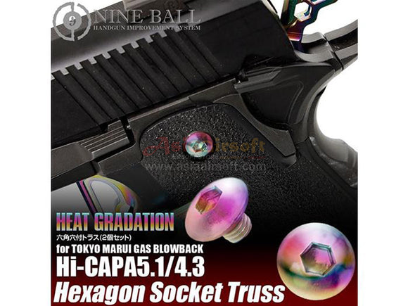 [Nine Ball] Hexagon Socket Truss Screws[Heat Gradation]