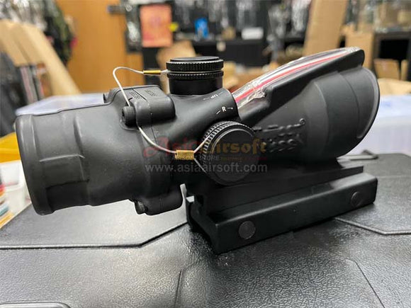 [Arrow Optics]  TA31 RCO 4X 32 Fiber Illuminated Red Crosshair ACOG SCope[Embossed Logo]