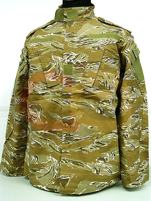 US Airsoft Desert Tiger Stripe Camo BDU Uniform Set L
