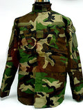 US Airsoft Camo Woodland BDU Uniform Set Shirt Pants XL