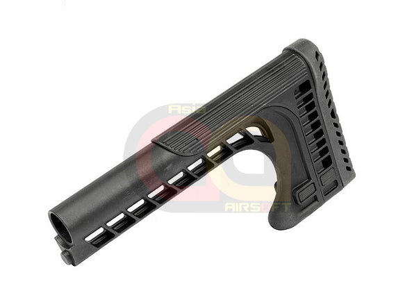 [CN Made] FAT SSR 25 Stock For [AEG Airsoft M4 Series] [BLK]
