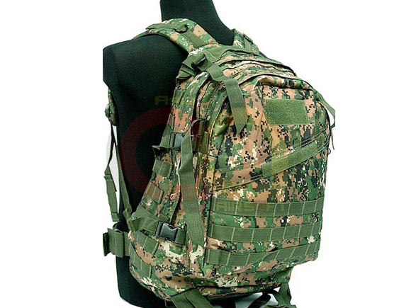 [Combat Gear] 3-Day Molle Assault Backpack Bag [Woodland Camo]