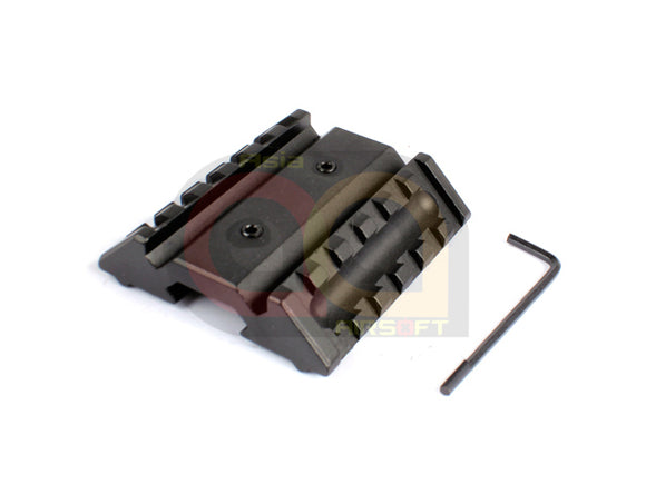 [Army Force] Dual Offset 20mm Side Rail Mount Base