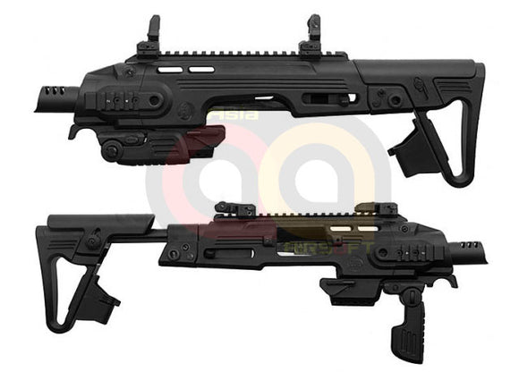 [CAA Airsoft] RONI G1 Pistol-Carbine Conversion Kit [For Model 17][BLK]