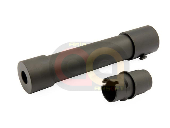 Action 35mm x 170mm MPX QD Silencer Set With QD Flash Hider [(14mm-]