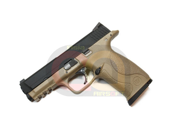 [WE] Toucan GBB Pistol Airsoft Gun [BLK TAN]