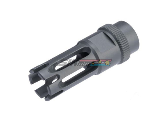 [ARES] M16 Aluminum Flash Hider [14mm CW] Type F