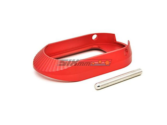 [AIP] Aluminum Magwell[Type 3][Red][ No marking]