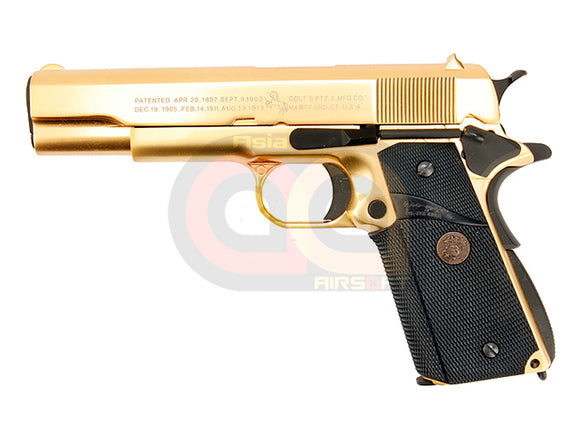[WE] MK24 M1911 Government w/ Marking [Gold Plated]