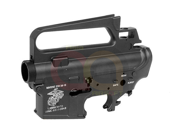 [G&D] Fully Metal DTW Upper/Lower M16A2 Receivers set [USMC marking]