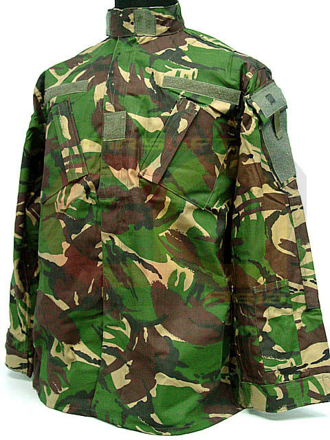 British DPM Camo Woodland BDU Uniform Shirt Pants M